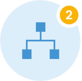 Organize Content icon